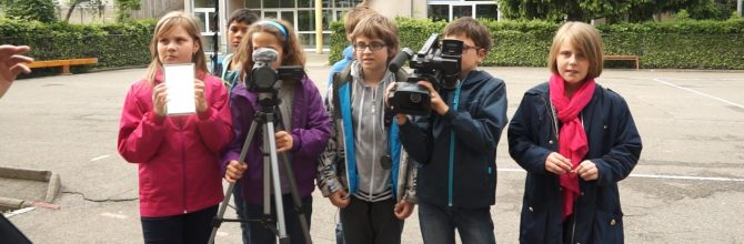 ATELIER EDUCATION AUX MEDIAS PHOTO ET VIDEO – dès 9 ans