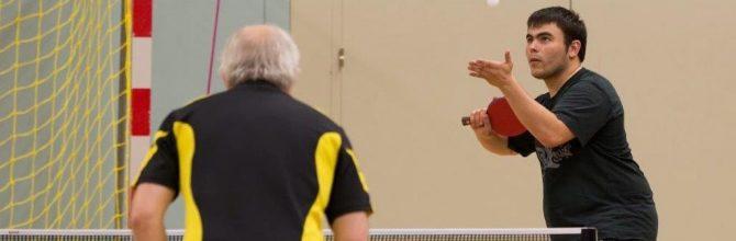 TENNIS DE TABLE ados : 11-16 ans (loisirs et entraînement compétition)